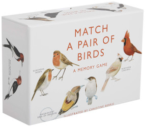 Match a Pair of Birds (A Memory Game) (Miniature Edition) by Christine Berrie, 9781856699662
