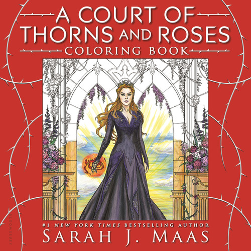 A Court of Thorns and Roses Coloring Book by Sarah J. Maas, 9781681195766