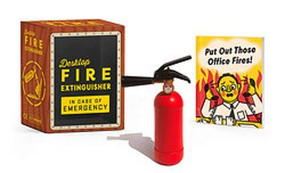 Desktop Fire Extinguisher (Miniature Edition) by Sarah Royal, 9780762473731