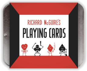 Richard McGuire's Playing Cards (Miniature Edition) by Richard McGuire, 9781452164472