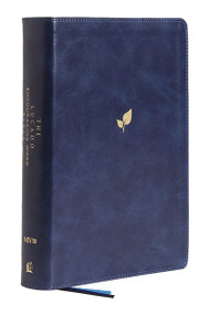 NIV, Lucado Encouraging Word Bible, Leathersoft, Blue, Thumb Indexed, Comfort Print (Holy Bible, New International Version) by Max Lucado, Thomas Nelson, 9780785201403