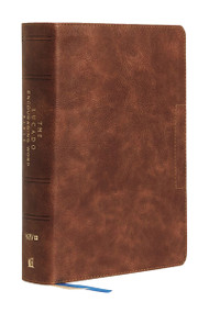 NIV, Lucado Encouraging Word Bible, Leathersoft, Brown, Comfort Print (Holy Bible, New International Version) by Max Lucado, Thomas Nelson, 9780785203605