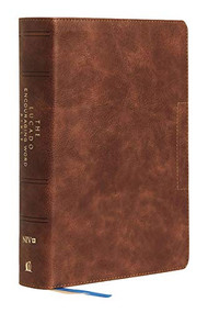 NIV, Lucado Encouraging Word Bible, Leathersoft, Brown, Thumb Indexed, Comfort Print (Holy Bible, New International Version) by Max Lucado, Thomas Nelson, 9780785203797