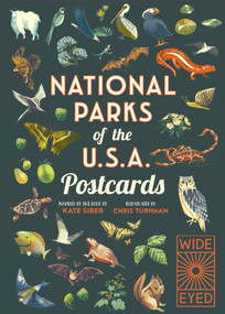 National Parks of the USA Postcards by Chris Turnham, Kate Siber, 9780711263277
