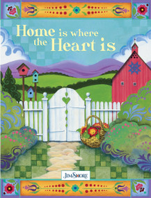 Home is Where the Heart is Lined Journal by Jim Shore, 9781641781169