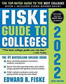 Fiske Guide to Colleges 2022 by Edward B Fiske, 9781492664987