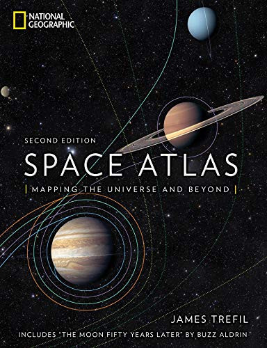 Space Atlas, Second Edition (Mapping the Universe and Beyond) by James Trefil, Buzz Aldrin, 9781426219696