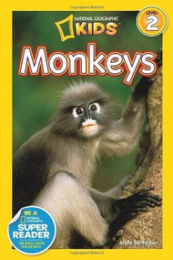 National Geographic Readers: Monkeys by Anne Schreiber, 9781426311062