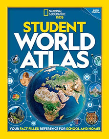 National Geographic Student World Atlas, 5th Edition - 9781426334801 by National Geographic Kids, 9781426334801