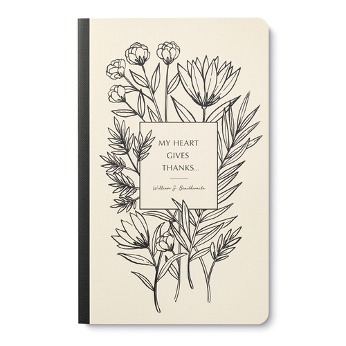 My heart gives thanks - Write Now Journal, 9781970147117