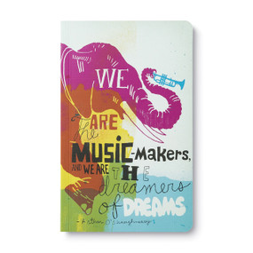 We are the music makers - Write Now Journal, 9781935414384