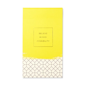 List Pad - Believe in every possibility., 6748