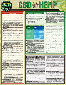CBD & Hemp (a QuickStudy Laminated Reference) by Joel Hathaway, 9781423241751