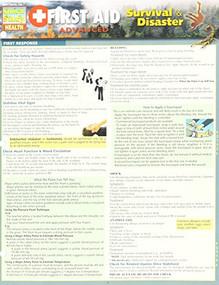 First Aid Advanced - Survival & Disasters by Distelhorst, Sandra, 9781423231103