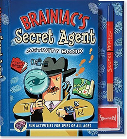 Brainiac's Secret Agent Activity Book (Fun Activities for Spies of All Ages) by Brian Sarah Jane, Klug David, 9780880884464