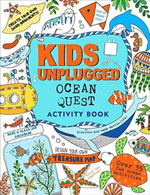 Kids Unplugged: Ocean Quest Activity Book by French Felicity, 9781441319975