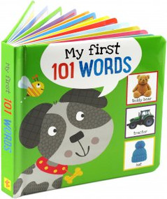 My First 101 Words! Board Book by , 9781441333094