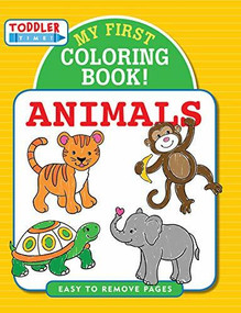 My First Coloring Book! Animals, 9781441332028