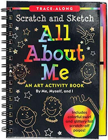 Scratch & Sketch All About Me (Trace-Along) (An Art Activity Book by Me, Myself, and I) by Zschock Martha Day, 9781441332530