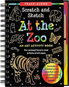 Scratch & Sketch At the Zoo (Trace-Along) (An Art Activity Book) by Nemmers Lee, Zschock Martha Day, 9781441305732