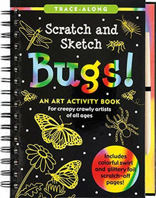 Scratch & Sketch Bugs (Trace-Along) (An Art Activity Book) by Kelley Betsy, Zschock Martha Day, 9781441317476