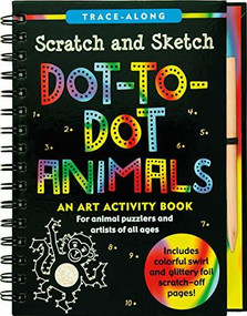 Scratch & Sketch Dot-to-Dot Animals (Trace-Along) (An Art Activity Book) by Nemmers Lee, Zschock Martha Day, 9781441321695