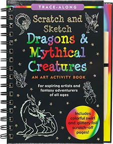 Scratch & Sketch Dragons & Mythical Creatures (Trace-Along) (An Art Activity Book) by Gandolfi Claudine, Gandolfi Claudine, 9781441333568