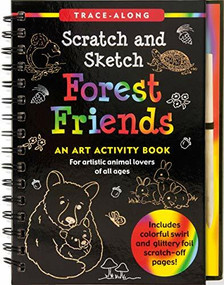 Scratch & Sketch Forest Friends (Trace-Along) (An Art Activity Book) by Nemmers Lee, Nemmers Tom, Zschock Martha Day, 9781441330802