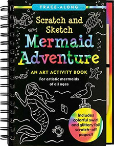 Scratch & Sketch Mermaid Adventure (Trace-Along) (An Art Activity Book) by Nemmers Lee, Zschock Martha Day, 9781441311566