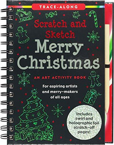 Scratch & Sketch Merry Christmas (Trace-Along) (An Art Activity Book) by Zschock Heather, Zschock Martha Day, 9781441334022