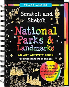 Scratch & Sketch National Parks (Trace-Along) (An Art Activity Book) by Zschock Martha Day, Zschock Martha Day, 9781441322715