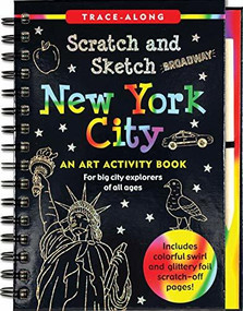 Scratch & Sketch New York City (Trace-Along) (An Art Activity Book) by Zschock Martha Day, Zschock Martha Day, 9781441330819