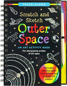Scratch & Sketch Outer Space (Trace-Along) (An Art Activity Book) by Zschock Heather, Zschock Martha Day, 9781441334091