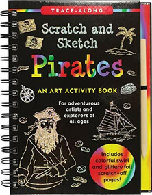 Scratch & Sketch Pirates (Trace-Along) (An Art Activity Book) by Nemmers Tom, Zschock Martha Day, 9781441334039