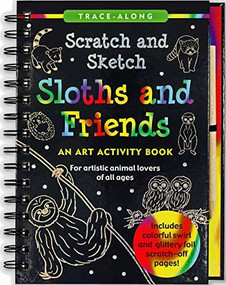 Scratch & Sketch Sloths & Friends (Trace-Along) (An Art Activity Book) by Nemmers Lee, Zschock Martha Day, 9781441329240