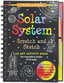 Scratch & Sketch Solar System (Trace-Along) (An Art Activity Book) by Zschock Heather, Zschock Martha Day, 9781441332585