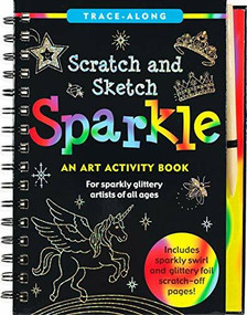 Scratch & Sketch Sparkle (Trace-Along) (An Art Activity Book) by Zschock Martha Day, Zschock Martha Day, 9781441327857