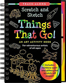 Scratch & Sketch Things that Go (Trace-Along) (An Art Activity Book) by Zschock Heather, Zschock Martha Day, 9781441303394
