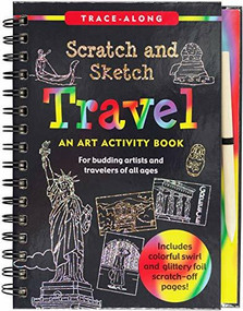Scratch & Sketch Travel (Trace-Along) (An Art Activity Book) by Steckler Kerren Barbas, Zschock Martha Day, 9781441332578