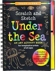 Scratch & Sketch Under the Sea (Trace-Along) (An Art Activity Book) by Zschock Heather, Zschock Martha Day, 9781441332608