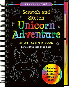 Scratch & Sketch Unicorn Adventure (Trace-Along) (An Art Activity Book) by Zschock Heather, Zschock Martha Day, 9781441313171