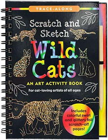 Scratch & Sketch Wild Cats (Trace-Along) (An Art Activity Book) by Kelley Betsy Paulding, Zschock Martha Day, 9781441331922