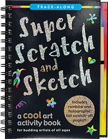 Super Scratch & Sketch (Trace-Along) (A Cool Art Activity Book) by Steckler Kerren Barbas, Zschock Martha Day, 9781441332592