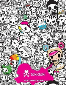 tokidoki Coloring Party by tokidoki, 9781454943372