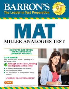 MAT (Miller Analogies Test) by Karin Sternberg, Robert J. Sternberg, Andrew H. Body, 9781438009544