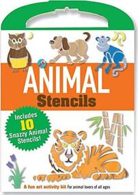 Animal Stencils (Includes 10 snazzy animal stencils!) by Wheeler David Cole, 9781441316141