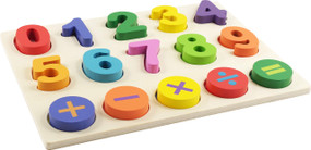 Numbers Kids' Wooden Puzzle, 9781441335128