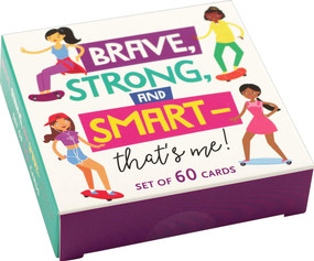Brave, Strong, and Smart -That's Me! Card Deck (Miniature Edition), 9781441335456
