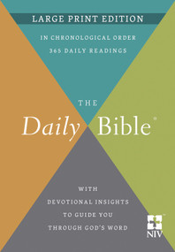 The Daily Bible® Large Print Edition by F. LaGard Smith, 9780736983167
