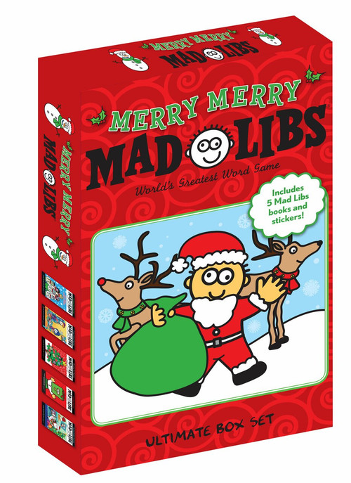 Merry Merry Mad Libs by Mad Libs, 9780593097052
